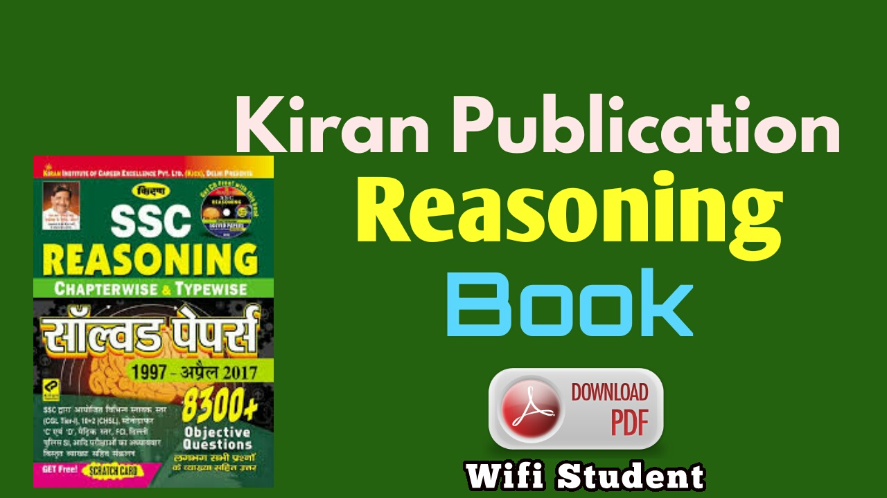 Kiran Publication reasoning book pdf free