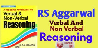 Rs Aggarwal Verbal Non Verbal Reasoning Pdf Archives Wifi Student