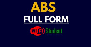 What is the Full Form of ABS, ABS Full Form