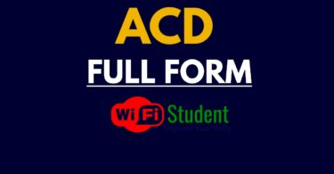 What is the Full Form of ACD, ACD Full Form